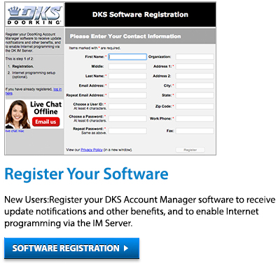 Register your software