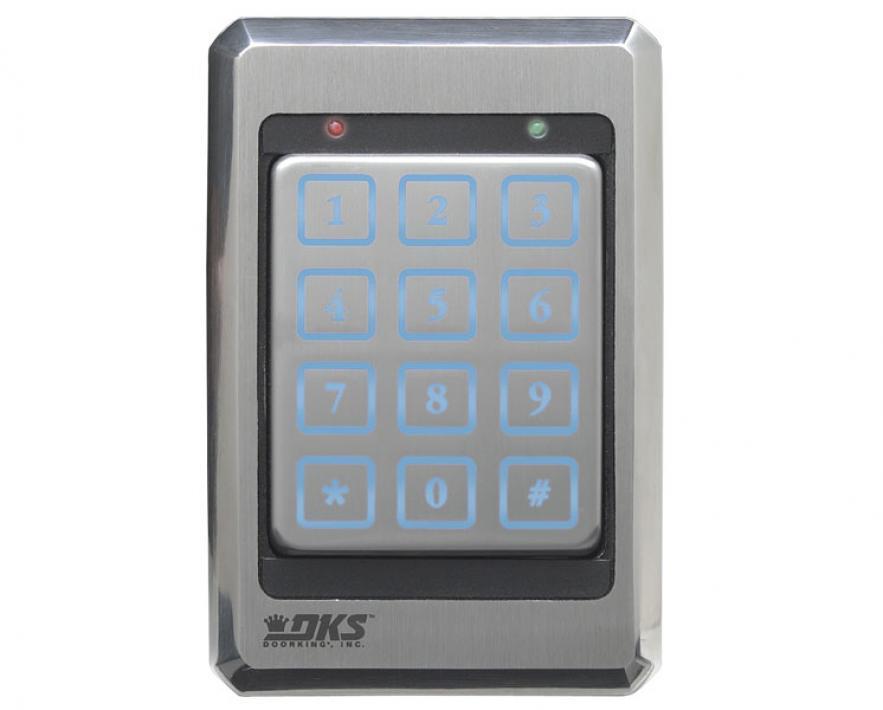digital keypads for the 1830 series doorking access control solutions. Black Bedroom Furniture Sets. Home Design Ideas