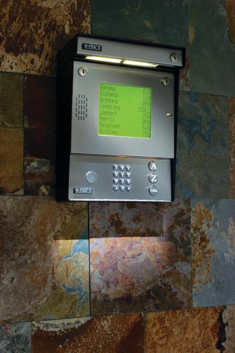 1837 Telephone Entry System Doorking Access Control