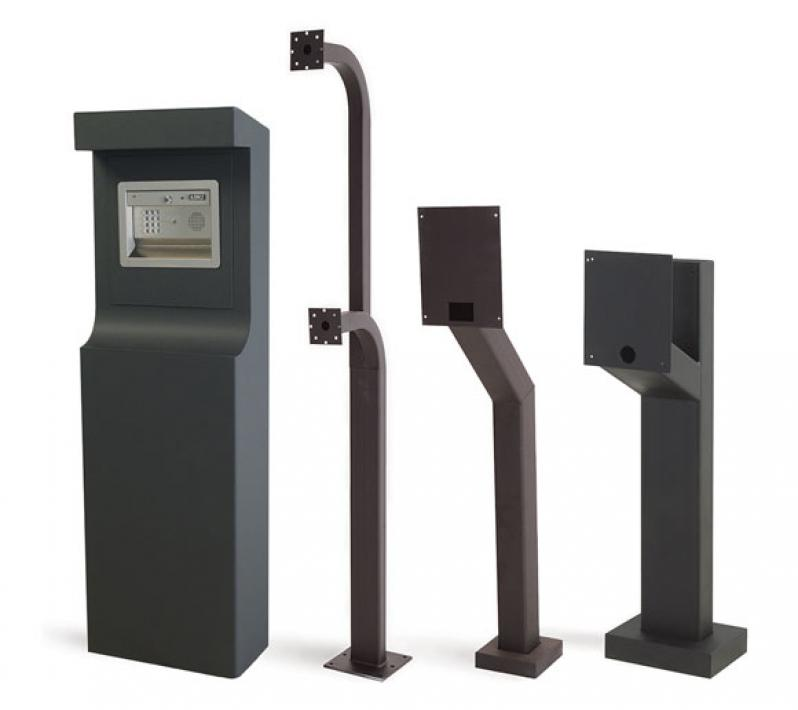 Mounting Posts Amp Kiosks Doorking Access Control Solutions