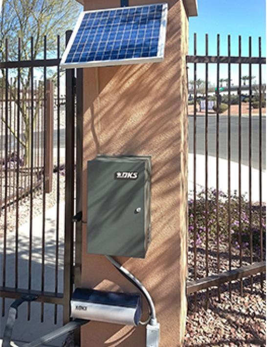 6004 Column Mount Swing Gate Operator Doorking Access