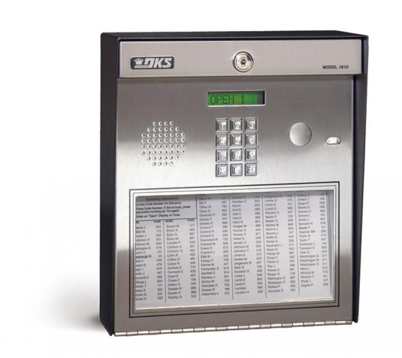 1810 Entry System Doorking Access Control Solutions