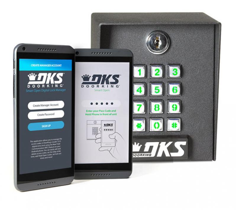 Smart Open - 1515 Digital Lock | Doorking - Access Control